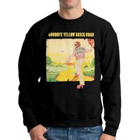 Elton John 'Adieu Yellow Brick Road パーカー スウェット トレーナー プルオーバー長袖 衛の衣 2020秋冬 スウェットシャツ