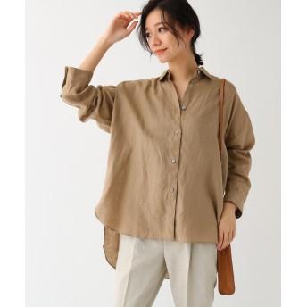 DRESSTERIOR(Ladies)(ドレステリア(レディース)) フレンチリネンビッグシャツ