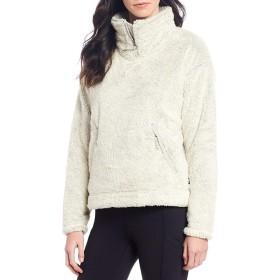 [ノースフェイス] レディース コート Quarter Zip Faux Furry Fleece Pullover [並行輸入品]
