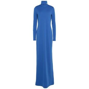 《セール開催中》CALVIN KLEIN 205W39NYC レディース ロングワンピース&ドレス ブライトブルー XS バージンウール 100%