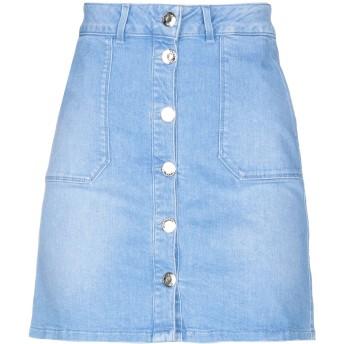 《セール開催中》TRUSSARDI JEANS レディース デニムスカート ブルー 40 コットン 99% / ポリウレタン 1%