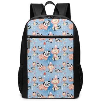 コスプレ パピー キャット リュックバック リュックナップザック バッグ ノートパソコン用のバッグ 大容量 バックパックチ キャンパス バックパック 大人のバックパック 旅行 ハイキングナップザック 30cm46cm18cm