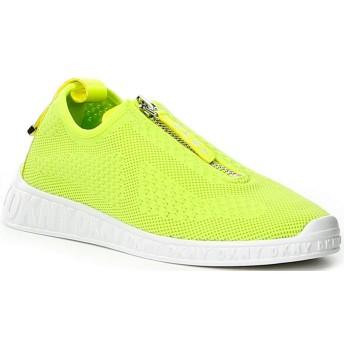 [×] [ダナ キャラン ニューヨーク] レディース スニーカー Melissa Neon Knit Front Zip Sneakers [並行輸入品]