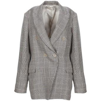 《セール開催中》BRUNELLO CUCINELLI レディース テーラードジャケット ベージュ 42 リネン 100% / 真鍮/ブラス