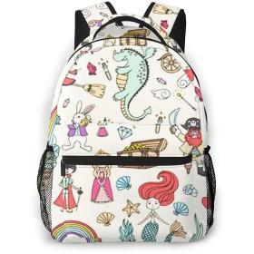 リュック プリンスフェアリーテイル, バックパック リュックサック ビジネスリュック メンズ レディース カジュアル 男女兼用 軽量 通勤 通学 旅行 鞄 バッグ カバン