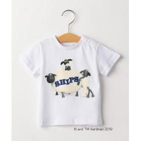 【シップスキッズ】SHIPS KIDS:【ひつじのショーン】<MAYHEM IN THE MEADOW!>Tシャツ(80〜90cm)
