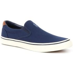 [不明] [ラルフローレン] メンズ スニーカー Men's Thompson Canvas Slip On Sneakers [並行輸入品]