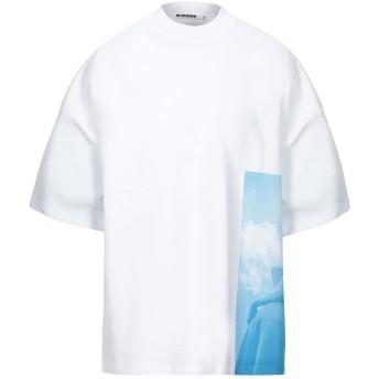 《セール開催中》JIL SANDER メンズ スウェットシャツ アジュールブルー XS コットン 100%