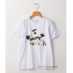 【シップスキッズ】SHIPS KIDS:【ひつじのショーン】<MAYHEM IN THE MEADOW!>Tシャツ(145cm)