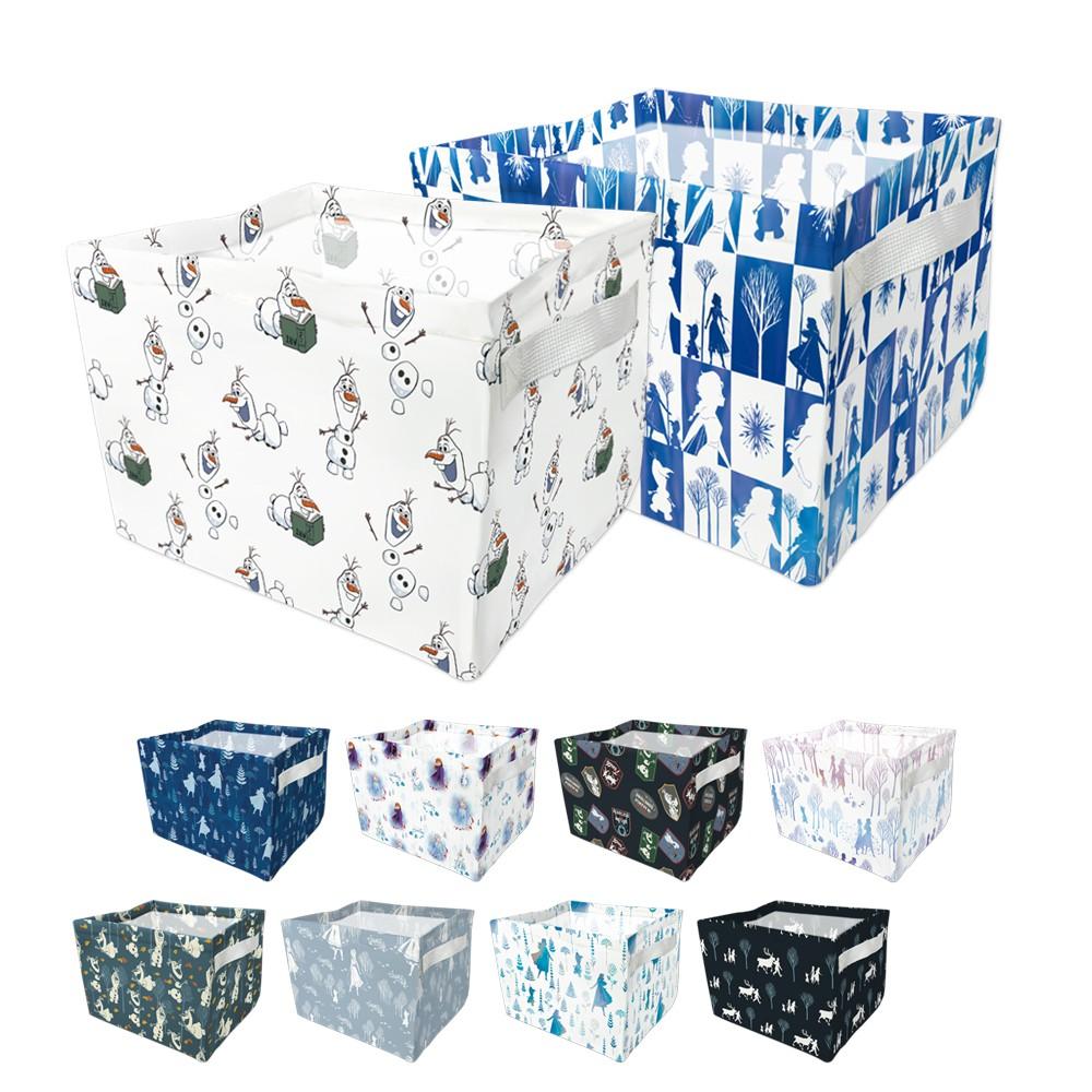 [迪士尼]冰雪奇緣2系列方形大款桌上收納 27x20x17多款任選【5ip8】[現貨]艾莎/安娜/雪寶