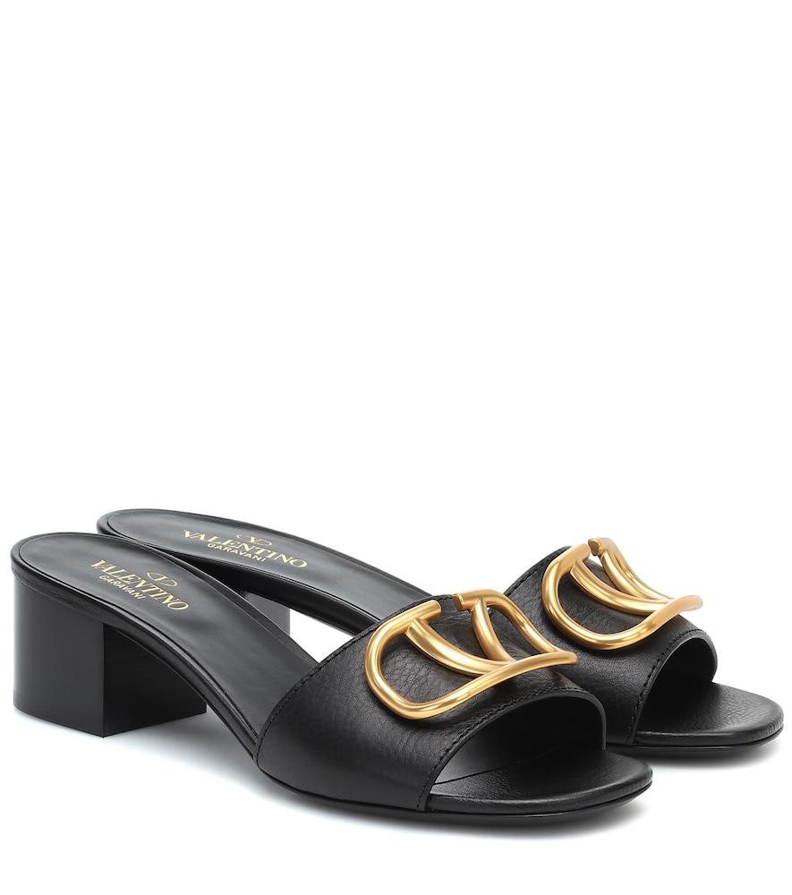 Valentino Garavani VLOGO leather sandals