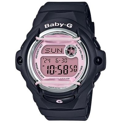 BABY-G 女孩愛運動防撞設計運動錶-黑(BG-169M-1)/45.9mm