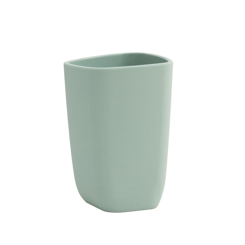 極簡純色漱口杯-湖水綠