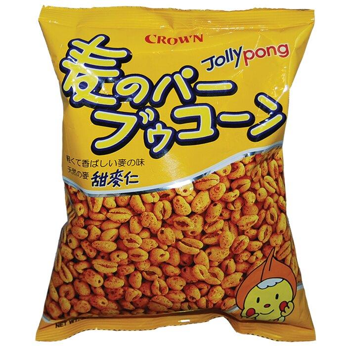 韓國 CROWN 皇冠 甜麥仁 餅乾 90g【康鄰超市】