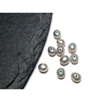 【F-5】小粒 ライスパール 淡水パール 真珠