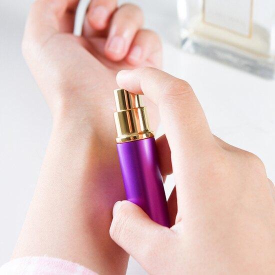 時尚金屬外觀噴霧瓶 玻璃 化妝水 保養品 旅行 戶外 分類 香水 隨身 分裝 ♚MY COLOR♚【F066】