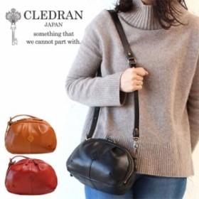 ポイント10倍 CLEDRAN クレドラン バッグ 2WAYショルダーバッグ IERI イエリ CL-3101 日本製 レザー 革 正規品