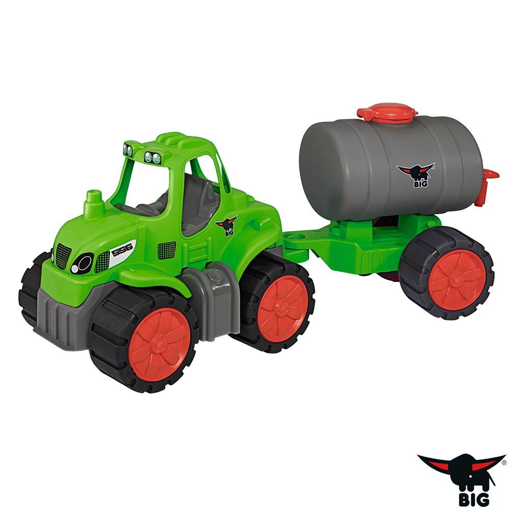 德國BIG 工程車系列-拖車頭+油罐子車組