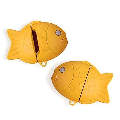 AirPods 1/2 鯛魚燒造型 藍牙耳機 保護套