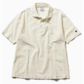 【シップス/SHIPS】 Champion×SHIPS: 別注 リバースウィーブ(R) 9.4oz Jersey Garment Dye ポロシャツ
