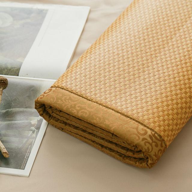 涼感升級 加厚型_3D透氣紙纖維涼蓆 純植物纖維【棉床本舖】