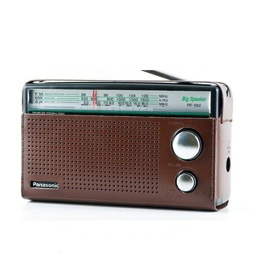 Panasonic 國際牌 三波段便攜式收音機 RF-562D