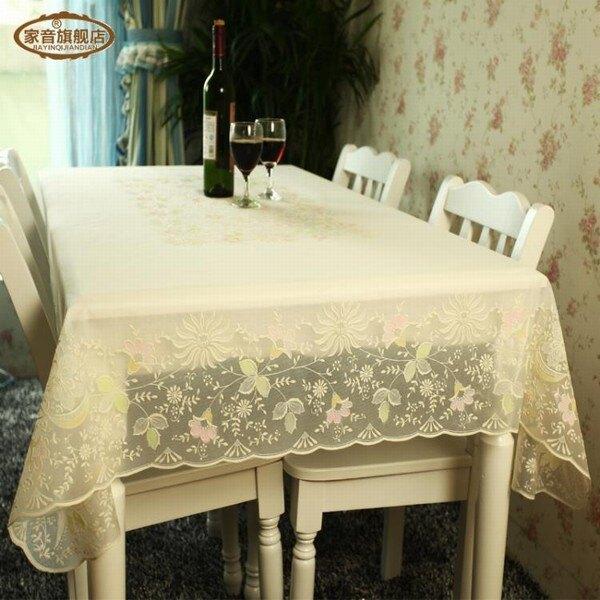 pvc防水防油餐桌布 免洗臺布茶幾墊 歐式印花桌墊 黛尼時尚精品