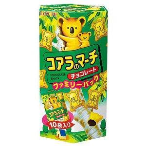 LOTTE 樂天 小熊餅家庭號-巧克力 195g【康鄰超市】