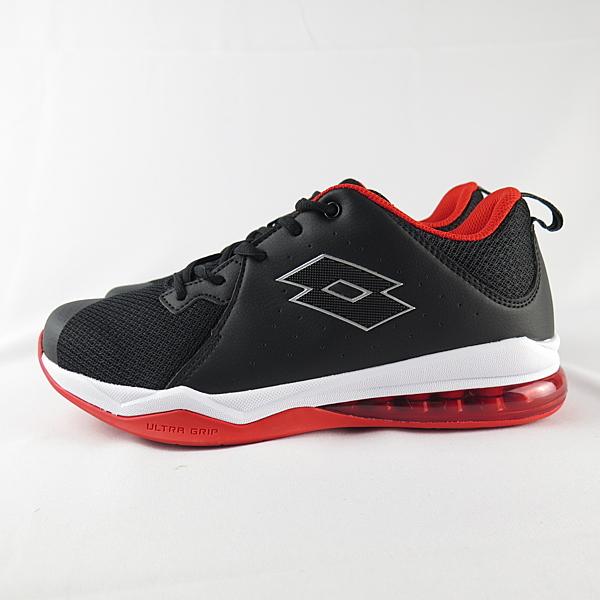 LOTTO FLY POWER 氣墊籃球鞋 男款 LT9AMB1180 黑X紅【iSport愛運動】