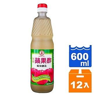 工研 無糖蘋果酢 600ml (12入)/箱【康鄰超市】