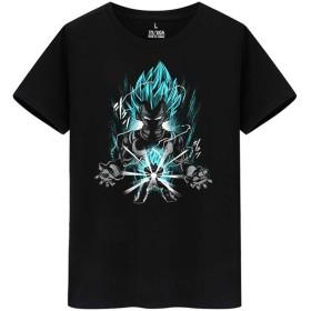 DRAGON BALL ドラゴンボール ベジータ Saiyan メンズ/レディース Tシャツ/夏服 半袖 Tシャ