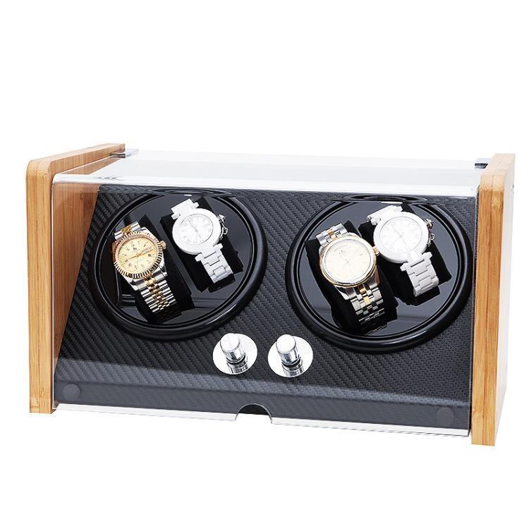 搖錶器 機械錶德國進口自動上鏈錶盒轉錶器手錶盒收納盒家用單錶