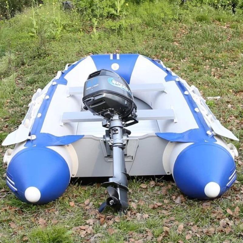 美國 SD-330 鋁合金底 充氣 釣魚船 救難船
