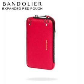 BANDOLIER バンドリヤー ポーチ スマホ 携帯 レディース EXPANDED RED POUCH レッド 21cas [12/25 新入荷]