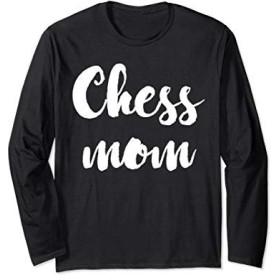 手書きチェスママ長袖Tシャツ