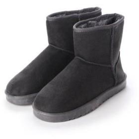 SFW サンエープラス AAA ふわふわのボアが暖かくて快適な履き心地!軽くて歩きやすいムートンブーツ/AAA+ 2319 (グレー)