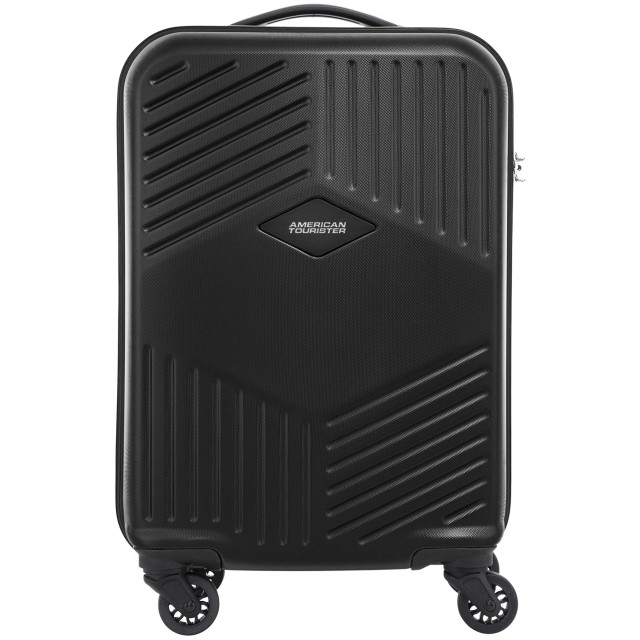 [アメリカンツーリスター] スーツケース トリリオン スピナー55 機内持ち込み可 メーカー保証付 55 cm 2.9 kg (ブラック)