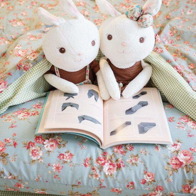 愛麗絲之花【床包格子】  四季磨毛布 台灣製【棉床本舖】