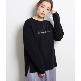 【ロペピクニック/ROPE' PICNIC】 ロゴロングTシャツ