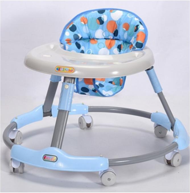 嬰兒學步車 多功能防o型腿側翻 幼兒可坐折疊寶寶男女孩6/7-12個月