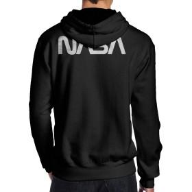 NASA Worm パーカー メンズ 厚手 裏起毛 防寒 カモフラ トップス 秋 冬 ファッション 長袖 プルオーバー スウェットパーカー ゆったり