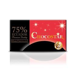 【巧克力雲莊】巧克之星-厄瓜多75%黑巧克力(玫瑰鹽)