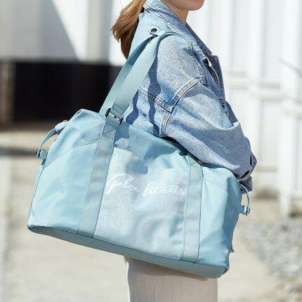 旅行包 小型旅行包女可愛網紅短途手提包包輕便出差旅遊行李大容量收納袋