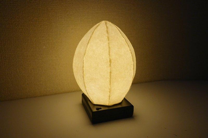 蛋型和紙日式夜燈