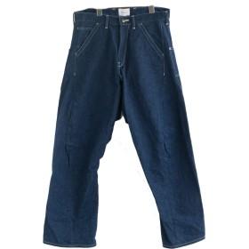 サイズ M 12.BLUE [CL162-034] CAL O LINE(キャルオーライン) BARREL PAINTER PANTS (バレルペインターパンツ/デニムワイドパンツ)