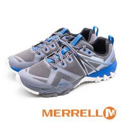 MERRELL(男) MQM FLEX GORE-TEX 防水郊山健行鞋 男鞋 - 藍