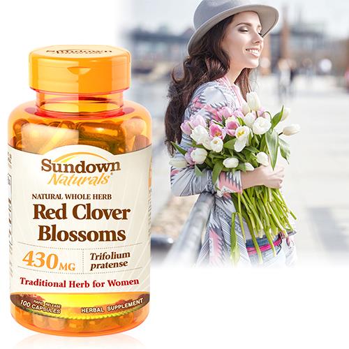 高單位頂級紅花苜蓿膠囊(100粒/瓶)【Sundown日落恩賜】商品有效期限-2021/8月底