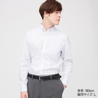ファインクロスチェックシャツ(ボタンダウン・長袖)