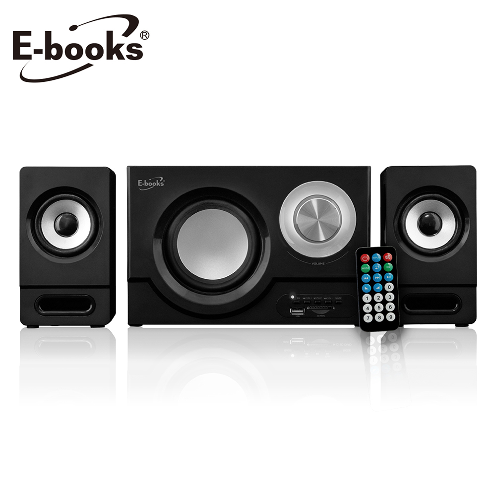 E-books D31 極致重低音藍牙2.1聲道多媒體音箱