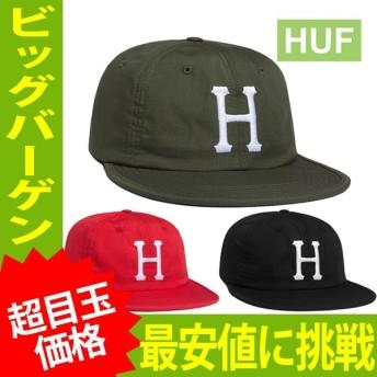 【送料無料】HUF FORMLESS CLASSIC H 6 PANEL ハフ クラシック H 6 パネル キャップ HT51032【huf234】